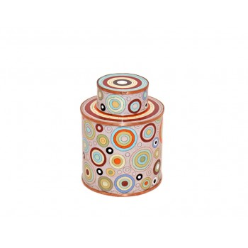 Medium cloisonne pot - Bubbles