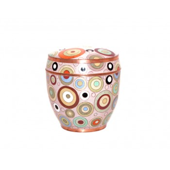 Lovely cloisonne pot - Bubbles