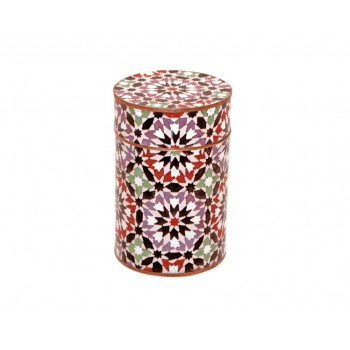 Medium cloisonne pot - Kasbah