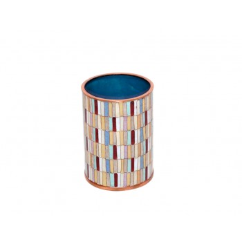 Pot à crayons - Mosaïque Eclectique