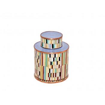 Boîte moyen modèle - Mosaïque Eclectique