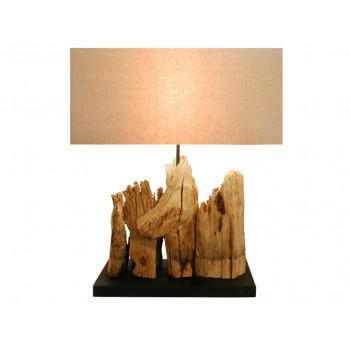 Lampe design bois Canopus