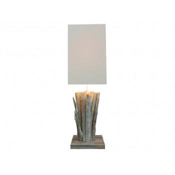 Lampe design bois Callisto