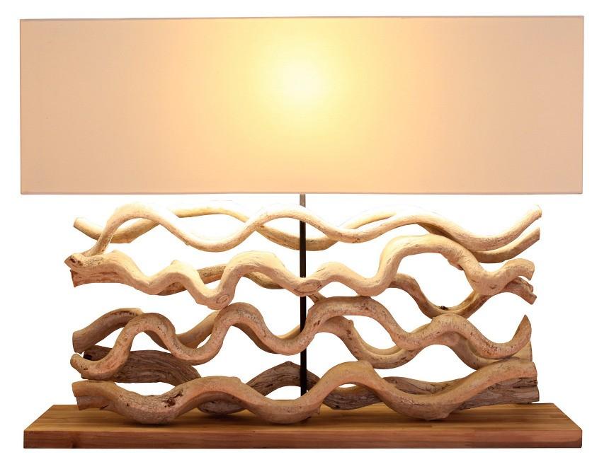 Lampe Bois Polaris Spiritopus