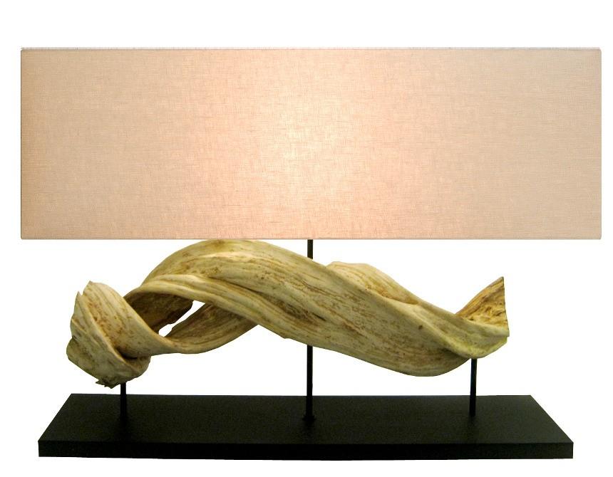Lampe Design Bois Polaris Spiritopus