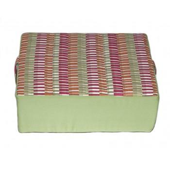 Coussin de méditation - Collection Baguettes Magiques - Vert