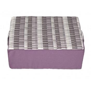 Coussin de méditation - Collection Baguettes Magiques - Violet