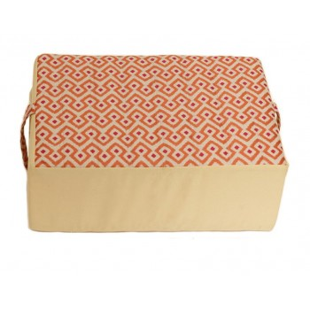 Meditation cushion - Ondes Audacieuses collection - Yellow