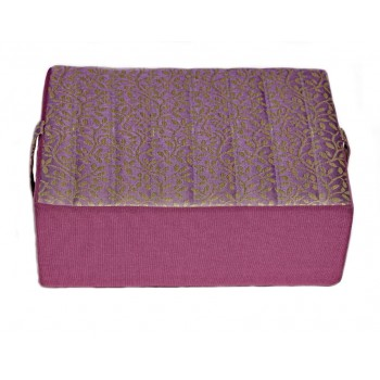 Meditation cushion - Sages Branchages collection - Purple