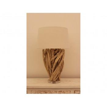 Lampe design bois Capella