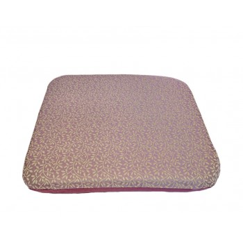 Coussin futon - Collection Sages Branchages - Violet