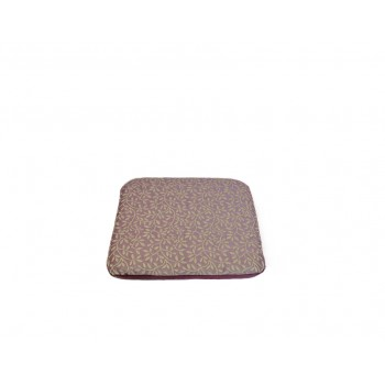 Padded cushion - Sages Branchages collection - Purple