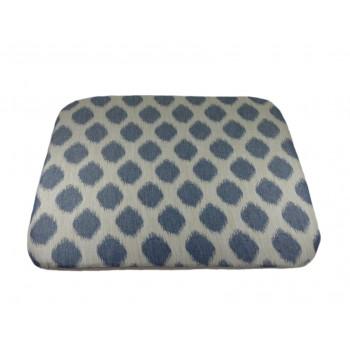 Coussin futon - Collection Tendre Présence - Bleu