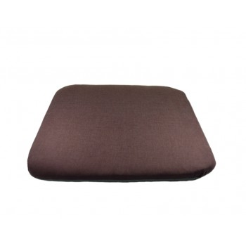 Coussin futon - Collection Serein Silence - Prune et gris