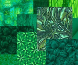 Emerald Green tissus Pantone