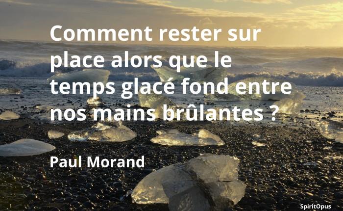 Comment rester sur place, Paul Morand