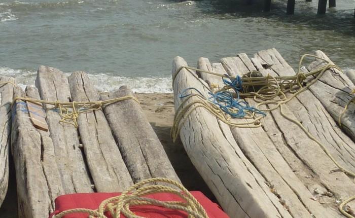 coussins de méditation pêcheur