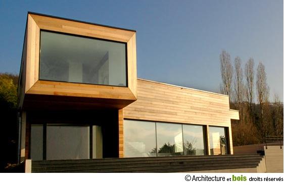 architecture maison bois
