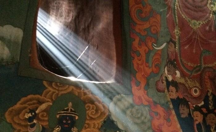 lampe de méditation spiritopus Bhoutan