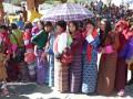 Textiles du Bhoutan kira femmes spiritopus