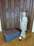 coussin de meditation du Bhoutan Spiritopus