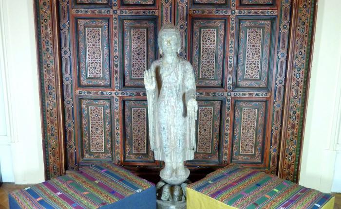 Bhoutan coussin méditation collection exception Spiritopus