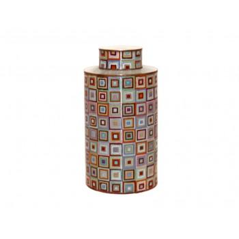 Very large cloisonne pot - Sweet Tibet