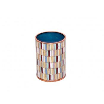 Pencil cup - Mosaïque Eclectique