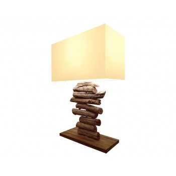 Lampe bois Wezen