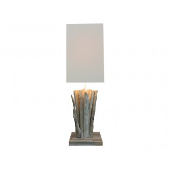 Lampe bois Callisto