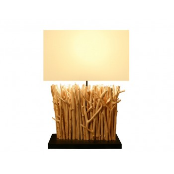 Lampe bois Sirius