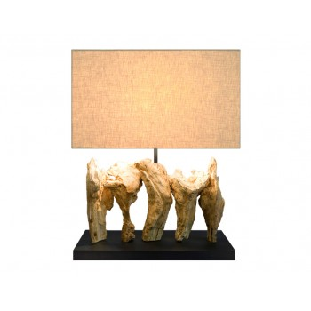 Lampe design bois Antares