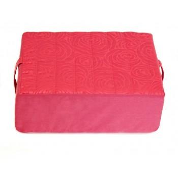 Meditation cushion - Fleurs de Bonheur collection - Pink