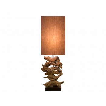 Lampe design bois Naos