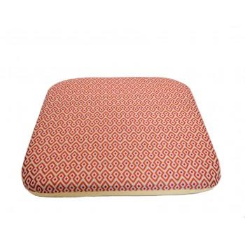Futon cushion - Ondes Audacieuses collection - Yellow