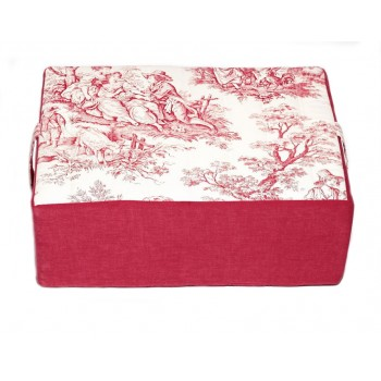 Meditation cushions - Jouy Oui! collection - Red