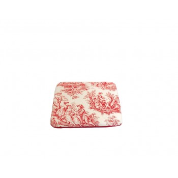 Padded cushion - Jouy Oui! collection - Red