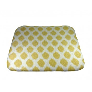 Coussin futon - Collection Tendre Présence - Jaune